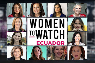 "USFQ ALUMNI GALARDONADAS EN ""WOMEN TO WATCH"""