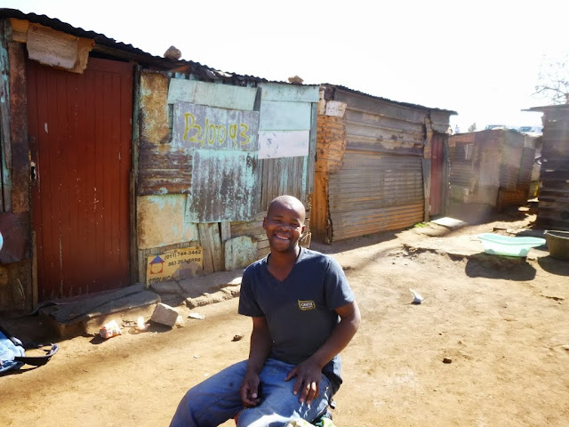 South African man in Soweto