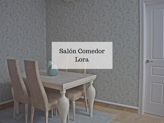 Interiorismo salón comedor Lora