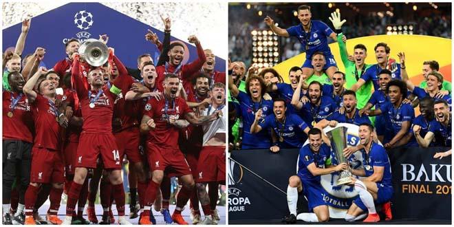 Ngoại hạng Anh mơ thống trị châu Âu: Man City vô địch C1, MU ẵm Europa League