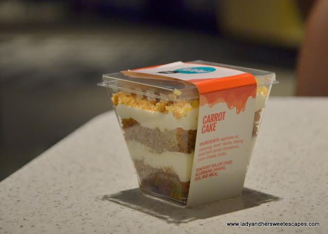Yasalam restaurant carrot cake