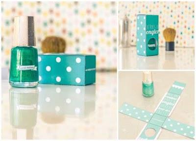 Haz tu esmalte para manicura casero con caja a juego