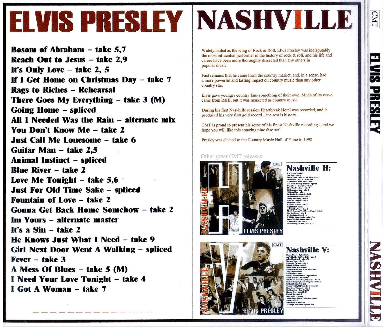 Elvis Presley For Friends In Flac November 2019