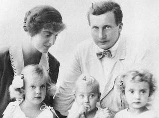 Josef Franz et Anna d'Autriche