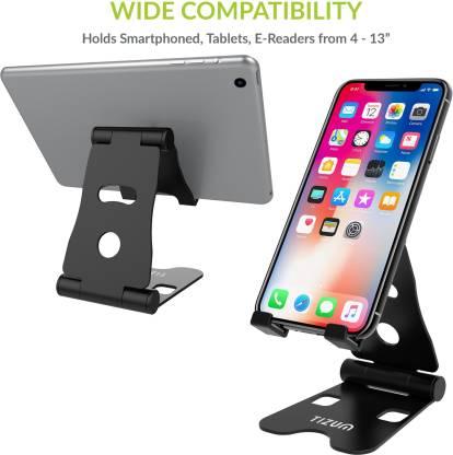 Rs,349/- TIZUM Foldable Aluminium Stand for All Smartphones Mobile Holder