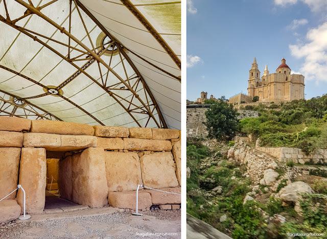 Malta: Templo de Hagar Quim e Santuário de Mellieha