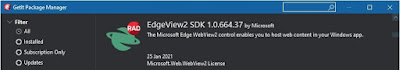 EdgeView2 SDK 1.0.664.37 in GetIt