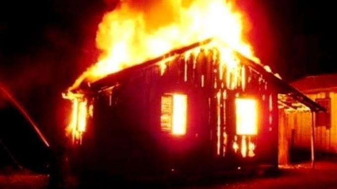 Após sofrer tentativa de homicídio, homem tem residência incendiada