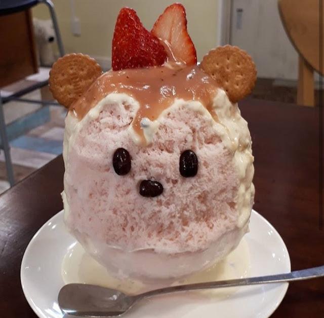 Swan ice shaver 極致鵝絨日式刨冰機 · 鵝絨雪花冰機-swan-kakigori-Pink-kakigori-sakura-strawberry