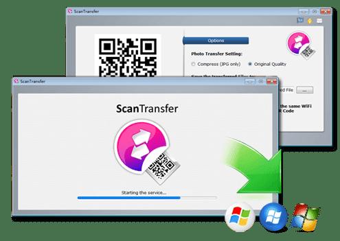 برنامج ScanTransfer نقل ملفاتك من الهاتف الي الكمبيوتر