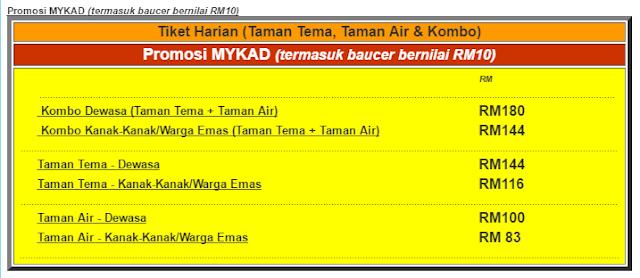 Harga Tiket Promosi MYKAD Legoland Malaysia , Legoland Malaysia , Harga Tiket Legoland Malaysia