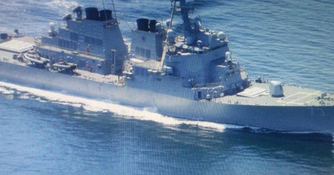 We're here!: US warship sails by contested island chain in South China Sea, official says