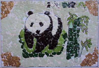 contoh mozaik anak sd