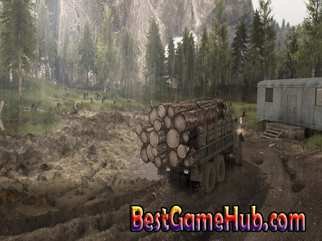Spintires Canyons Compressed PC Repack Game Download