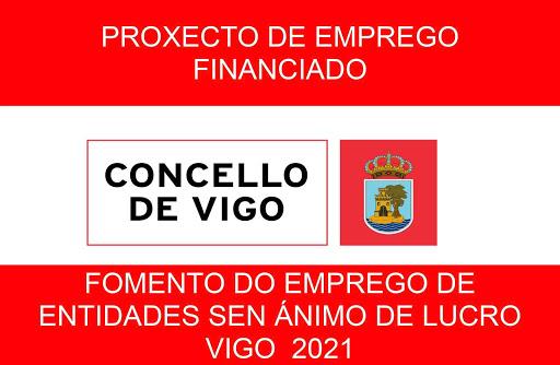 Proxecto de emprego financiado polo Concello de Vigo