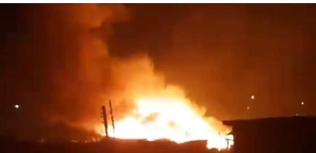 Breaking:Abia market set ablaze, one shot dead, five injured