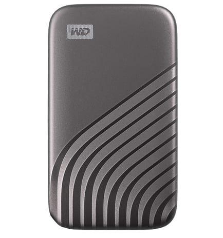 WD 4TB My Passport External Portable SSD