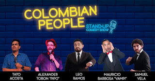 """Colombian People"" Diertido Stand-up comedy show"