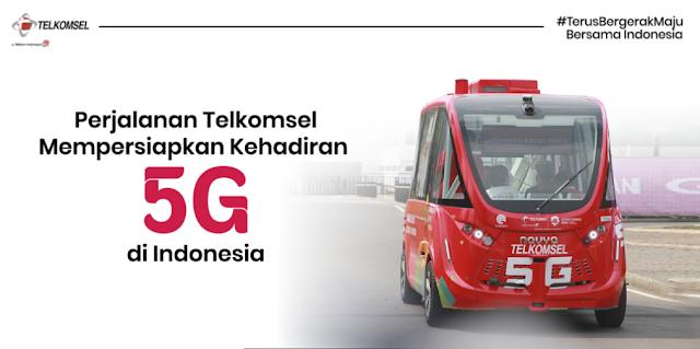 sejarah 5g telkomsel di indonesia