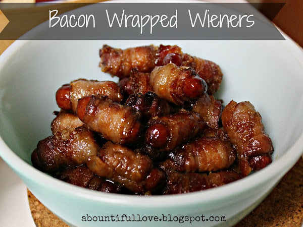Bacon Wrapped Weiners