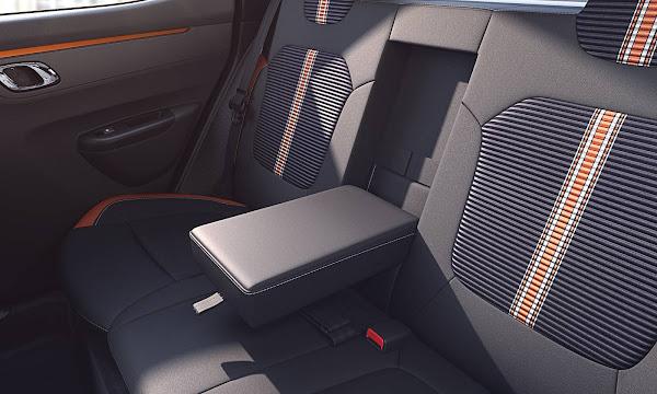 Novo Renault Kwid 2022 - interior