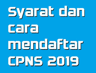 bagaimana cara mendaftar penerimaan cpns 2019