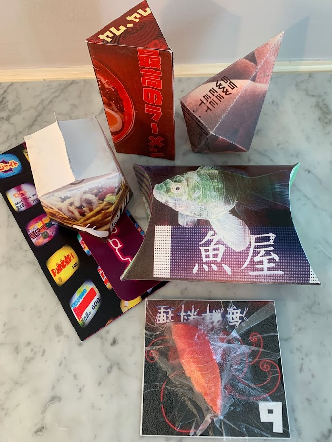 Blade Runner: 2049 BiBi's Bar and Food Court Prop Reproductions 6 items