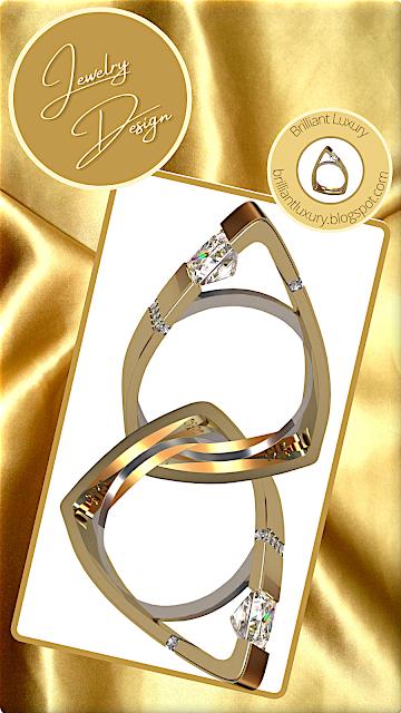 Greg Neeley North Face Princess engagement ring #brilliantluxury