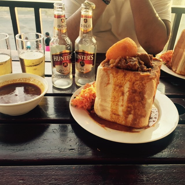 Hollywood Bunny Chow and Hunters Gold - Springfield Park, Durban