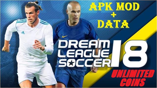 Download Dream League Soccer 2018 Apk Mod Unlimited Coins