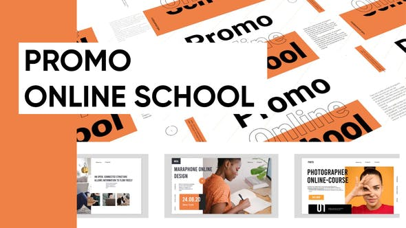 Videohive - Promo Online School Presentation - 28757869