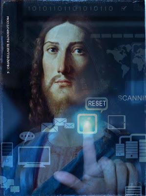 Cristo Resettatore-photo manipulation of classical paintings
