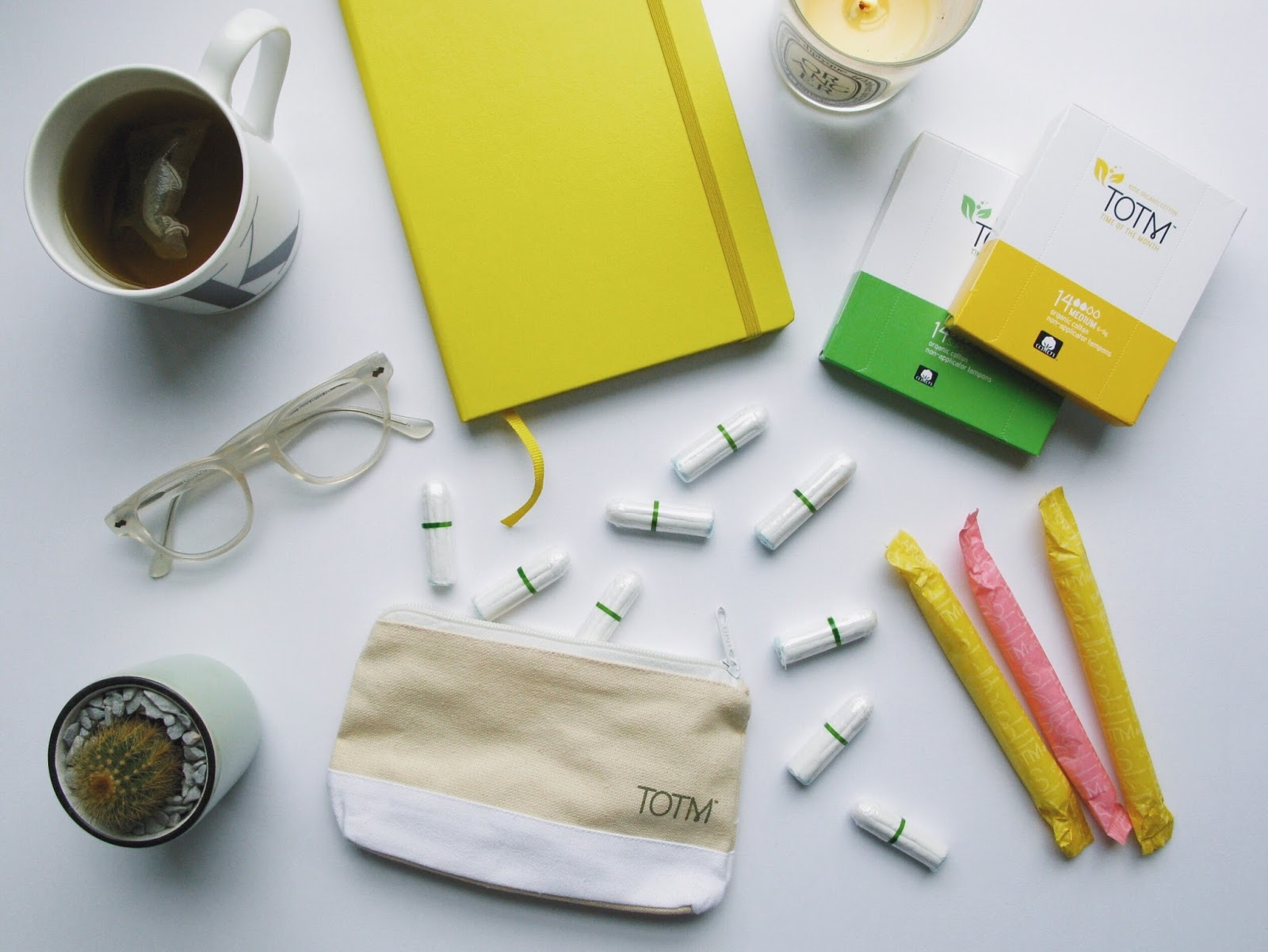 Are You Using Organic Cotton Tampon and Pads During Your Time Of The Month?