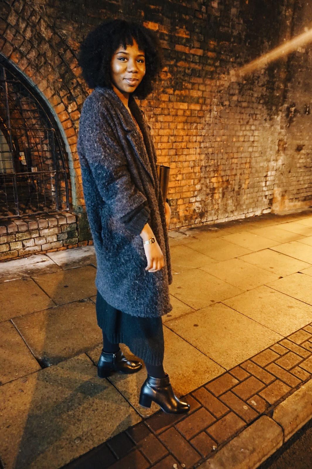 OOTD | Polka dots & Long cardigans