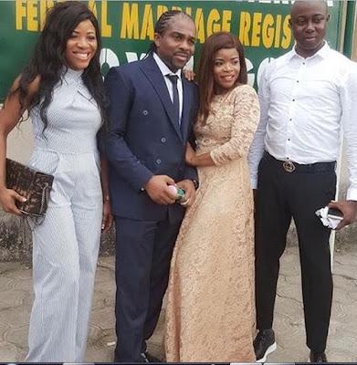 Laura Ikeji And Ogbonna Kanu Court Wedding Photos1