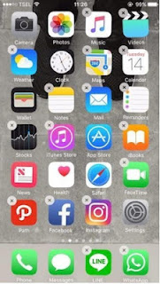 Tema iOS 10 untuk Oppo Neo 5