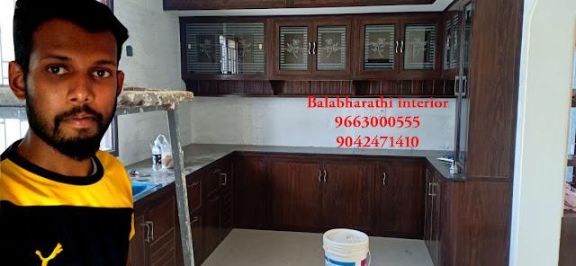 Balabharathi Interior Hosur Kirshnagiri Bangalore Pvc Modular Kitchen In Pennagaram 9663000555 9663000555
