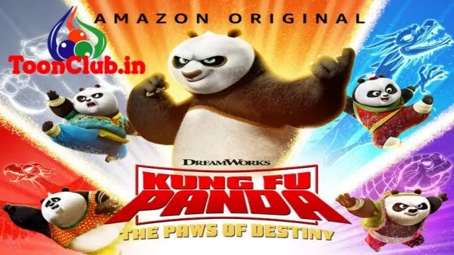Kung Fu Panda: The Paws of Destiny Animation Series In Hindi Dubbed Free Download