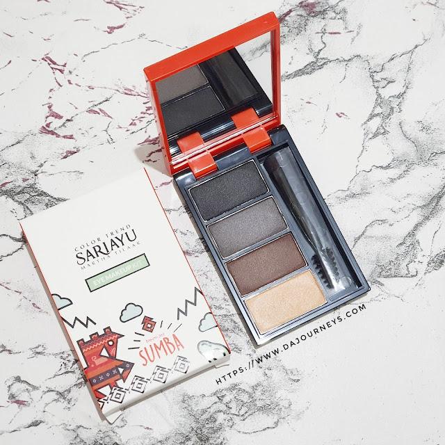 Review Sariayu Color Trend 2020 Inspirasi Sumba Eye Make up Kit