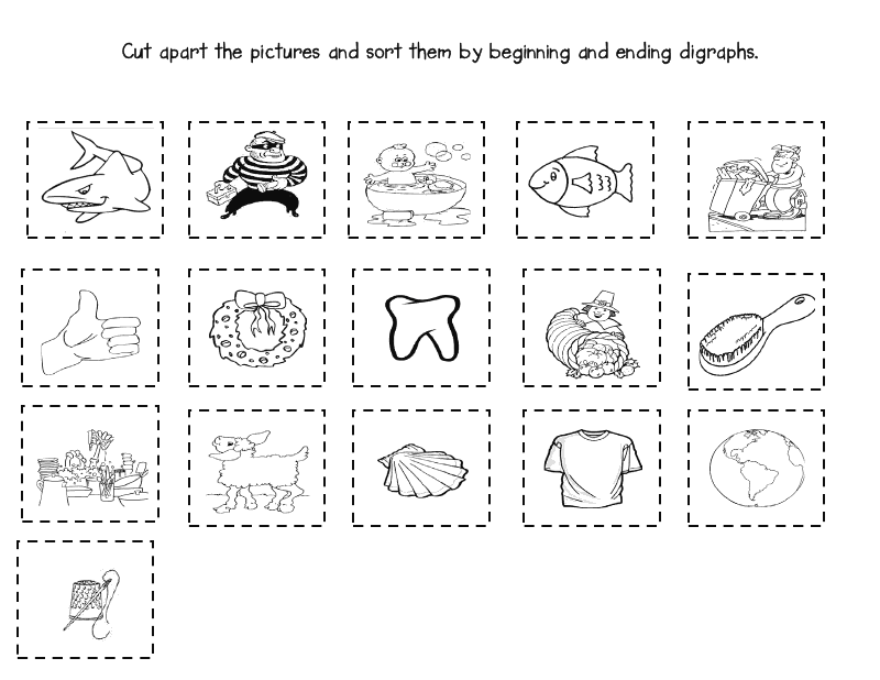 photo regarding Th Worksheets Free Printable named Versus The Center Up.: No cost printable /sh/ /th/ worksheets