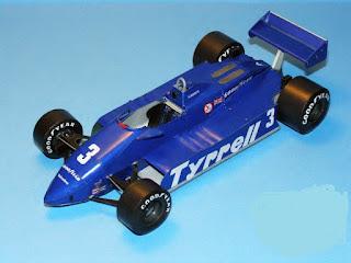 Tyrrell 011 - Michele Alboreto - Brazilian GP 1982 (Antonicky)