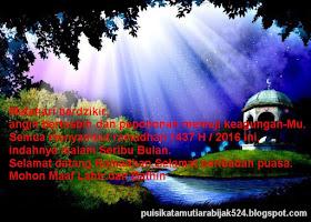 Ucapan Kalimat Kata Indah Menjelang Bulan Ramadhan 1441 H 2020