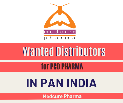 Wanted Distributors for PCD Pharma / Wholesale in India