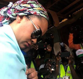 #KogiDecides: Yahaya Bello narrowly defeats Natasha Akpoti in her polling unit