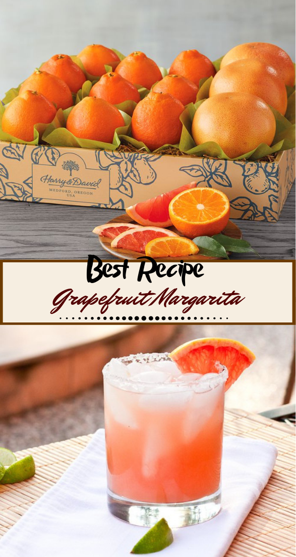 Grapefruit Margarita  #healthydrink #easyrecipe #cocktail #smoothie