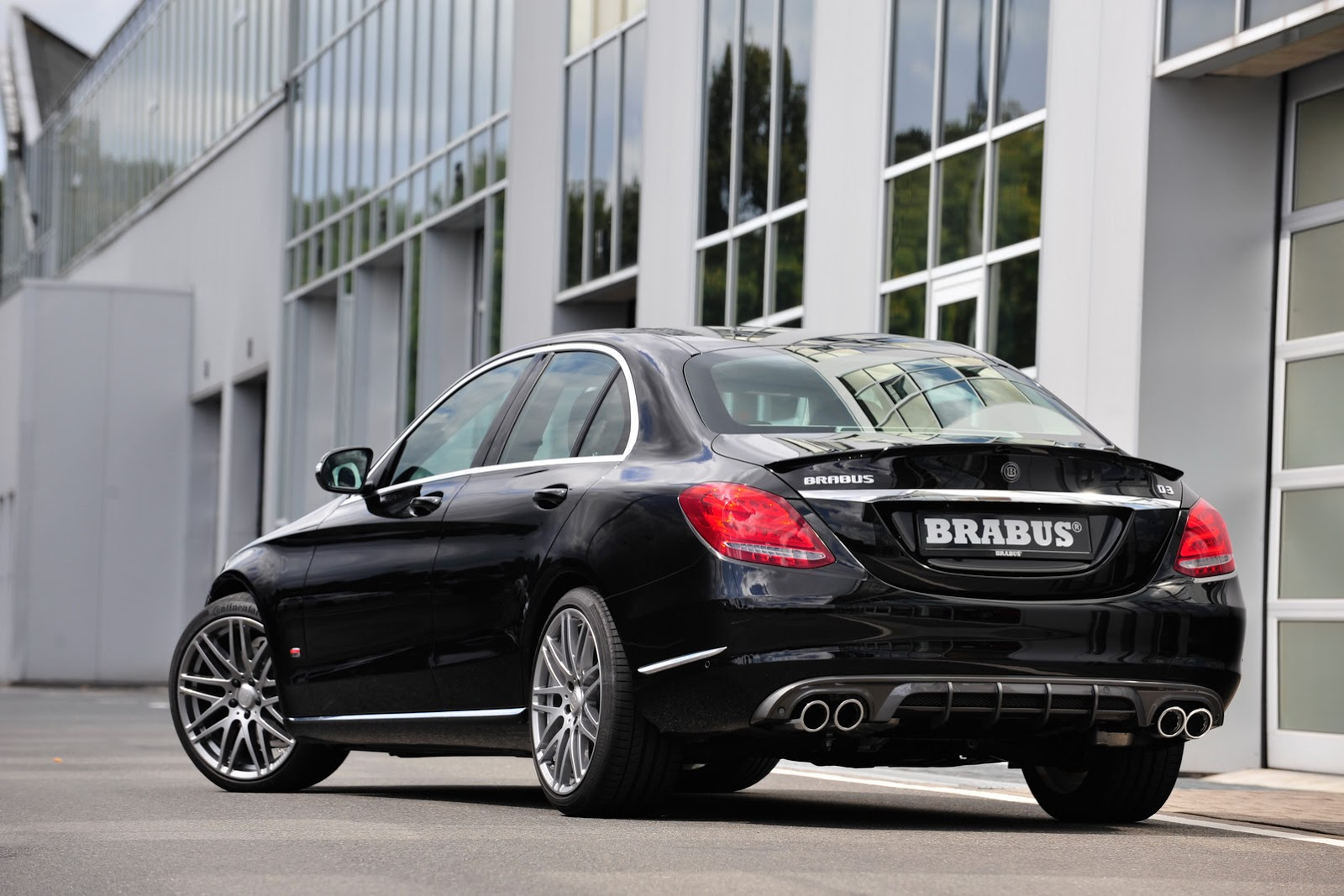 brabus tunes into new 2015 mercedes benz c class w205 41. Black Bedroom Furniture Sets. Home Design Ideas