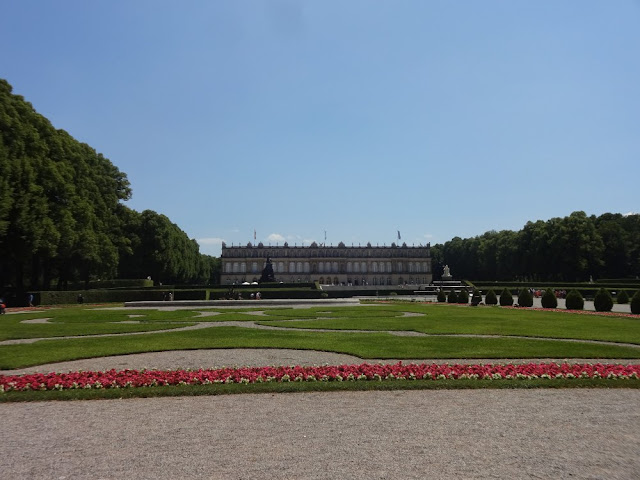Palácio de Herrenchiemsee - Chiemsee, Baviera, Alemanha