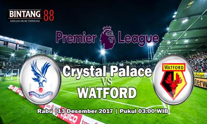 Prediksi Crystal Palace vs Watford 13 Desember 2017