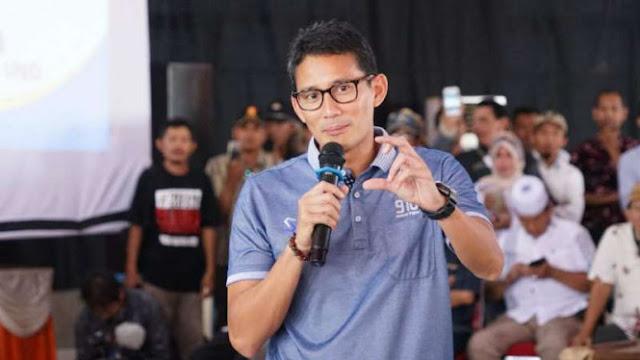 Prabowo Dianggap Malas Kampanye, Sandiaga: Kami Berbagi Jadwal