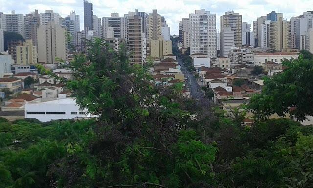 Ribeirão Preto desde o mirante do Bosque Fábio Barreto